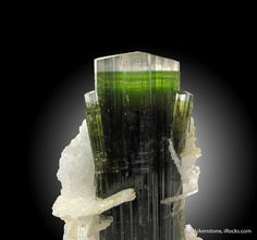 Tourmaline and Albite var. Cleavelandite, Stak Nala, Haramosh Mts., Skardu District, Gilgit-Baltistan, Pakistan, Miniature, 5.1 x 2.6 x 2.5 cm, This is a very impressive specimen from Stak Nala, the most famous Tourmaline locality in Pakistan, and likely from the find in the Fall of 2005., For sale from The Arkenstone, www.iRocks.com. For more details on this piece and others, visit http://www.irocks.com/minerals/specimen/44493