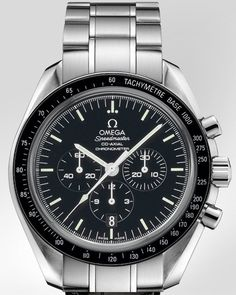 Speedmaster Moonwatch Co-Axial chronograph 44,25mm.