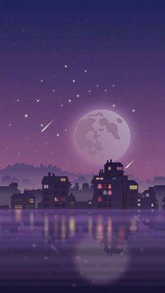 List of Nice Aesthetic Anime Wallpaper IPhone A GRAPHICS BOOK。 Mau belajar seputar graphic di Wattpad?… # Non-fiksi # amreading # books # wattpad Scenery Wallpaper, Aesthetic Pastel Wallpaper, Screen Wallpaper, Aesthetic Wallpapers, Wallpaper Backgrounds, Purple Galaxy Wallpaper, Moon And Stars Wallpaper, Purple Wallpaper Phone, Galaxy Wallpaper Iphone
