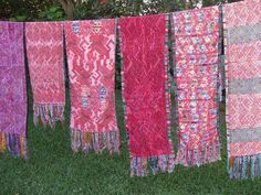 A selection of authentic Mayan vintage Huipil by JazuliDesigns