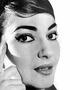 La Divina, Maria Callas, opera singer.
