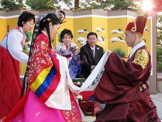 Traditional Korean Wedding Ceremony   Flickr - Photo Sharing!