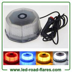 12V 240LED Car Truck Vehicle Beacon Light Magnetic Flash Beacon Light Led Emergency Warning Strobe Lights Red Amber White Blue Led Strobe, Beacon Lighting, Light Led, Strobing, Magnets, Amber, Trucks, Lights, Car
