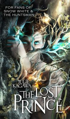 The Lost Prince (UK Edition) – Julie Kagawa  Dear lord, what a cover!