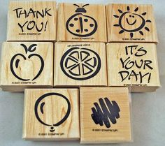 Retired Mint Stampin Up Stamp Set Fanciful by annswhimsey on Etsy