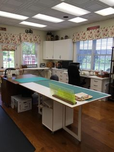 Sewing Room Furniture, Ping Pong Table, Corner Desk, Space, Creative, Kitchen, Ideas, Home Decor, Corner Table