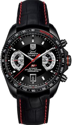 TAG Heuer Grand Carrera Chronograph Watch