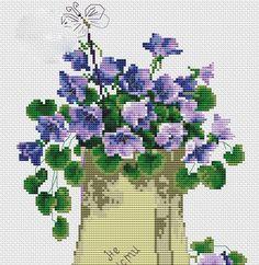 Etamin Çiçek Şablonları (1)
