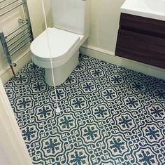 Topps Tiles Patterned Floor