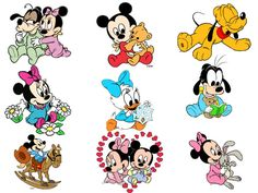 Mickey Minnie Mouse Baby Shower Disney Baby