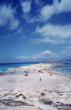Formentera  Punta  Prima,   Spain. No es Punta Prima, es Es Trocadors donde se junta Formentera con Espalmador
