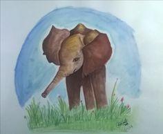 Baby Elephant....new year celebration