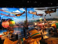 The Air Zoo in Kalamazoo is a good day's fun for families, and it's only a couple minutes off of I-94.