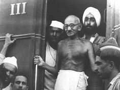 Mohandas Gandhi led people who wanted to peacefully remove British influence from India through civil disobedience in strikes, marches, and boycotts of British products and services. India gradually became more independent.