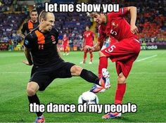 Let me show you the dance of my people - 25+ Funny Football Moments #funny #wtf #football