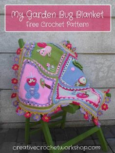My Garden Bug Blanket - Free Crochet Pattern | Creative Crochet Workshop