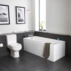 Pool Comfort Bath 1700 X 700 With Feet | bathstore