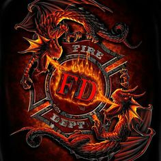 Firefighter Apparel The Dragon Fear No Evil T-shirt is one of a large selection of fireman t shirts for men. Firefighter Apparel, Firefighter Paramedic, Firefighter Decor, Volunteer Firefighter, Firefighter Tattoos, Firefighter Drawing, Firefighter Funny, American Firefighter, Female Firefighter