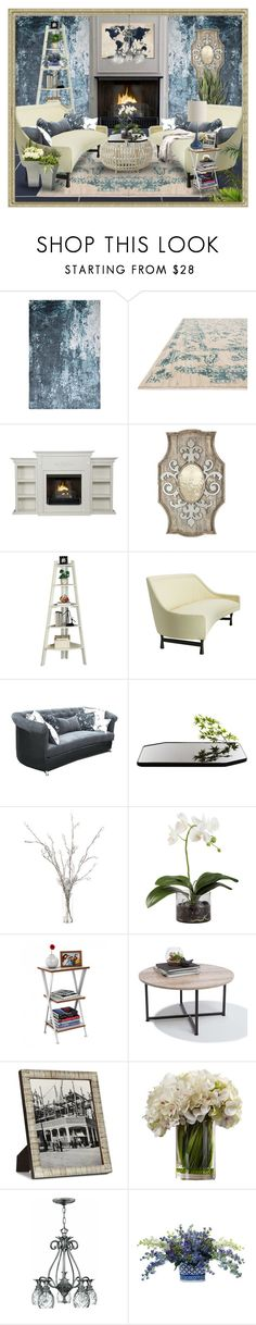 """Untitled #5606"" by julissag ❤ liked on Polyvore featuring interior, interiors, interior design, home, home decor, interior decorating, Aidan Gray, Hokku Designs, Moustache and Ethan Allen"