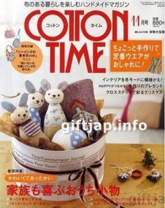 Cotton Time Craft Mag - Many small patchwork and sewing projects.
