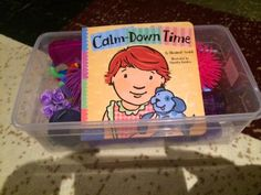 Since I spoke about our calm down box in my latest post , I figured I would write a quick post on our calm down box which has been very suc...