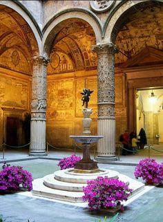 Cortile interno, Palazzo Vecchio, Firenze