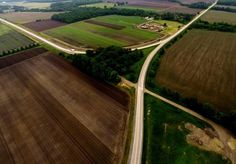 DCIM\101GOPRO aerial shot of cross roads
