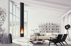 Stoves | Fireplaces-Stoves | Slimfocus | Focus | Dominique. Check it out on Architonic