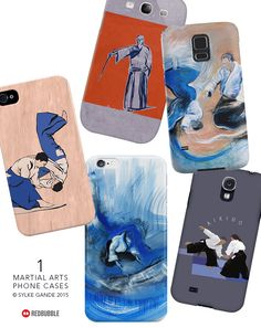 Aikido & IAIDO Phone Cases. Sylke Gande / REDBUBBLE http://www.redbubble.com/people/gandix/collections/173932-martial-arts