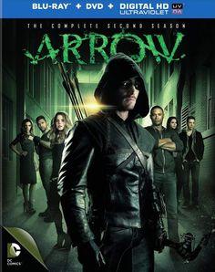Arrow saison 2 en dvd/blu-ray/digital ultraviolet
