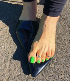 Image may contain: one or more people, shoes and outdoor Nice Toes, Pretty Toes, Hot Pink Toes, Cute Toe Nails, French Pedicure, Beautiful Toes, Feet Nails, Sexy Toes, High Heels Stilettos