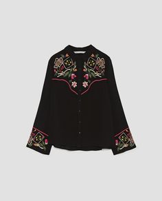 Image result for embroidered shirt