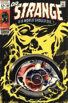 Doctor Strange # 181 by Gene Colan & Tom Palmer