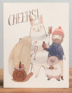 Cheers! - Congratulations Card