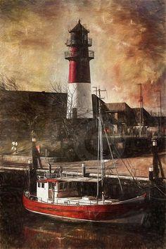 The old #lighthouse of Büsum    http://dennisharper.lnf.com/