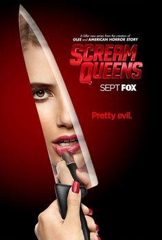 #ScreamQueens, la nouvelle série de Ryan Murphy sur la FOX, continue de faire le buzz en se dévoilant dans trois magnifiques affiches teaser... Pretty Evil !! --> Emma Roberts