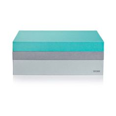 desiary.de - Organisationsbox rechteckig A4, grau/türkis