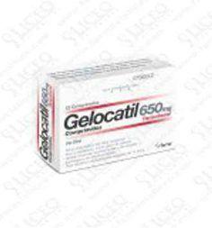 GELOCATIL 650 MG 12 COMPRIMIDOS (TIRAS)