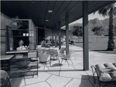 SHULMAN, JULIUS (1910-2009) [Ball Arnaz House, Thunderbird Country Club, Palm Springs, CA. 1955. Paul R. Williams architect]. In the 1950's, Lucille Ball was America's most famous TV star and a powerful producer. Ball, and her husband Desi Arnaz, had this house built on a lot Desi reputedly won in a poker game. It was located near the 17th fairway of the Thunderbird Country Club and was the first residence completed in the club's development.