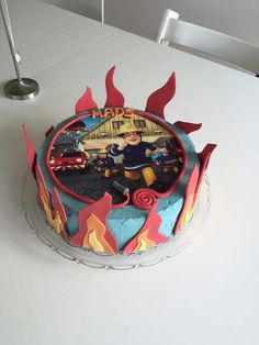 Brandmand kage