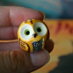 Snitch the Clay Quidditch Owl Harry Potter Inspired by calicoowls, $14.00