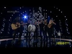 Walk Off The Earth - Gang of Rhythm & Red Hands Live at The 2014 JUNO Awards - absolute favorite performance of the evening!
