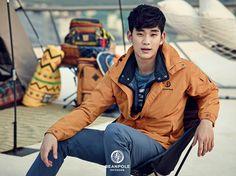 BEANPOLE OUTDOOR S/S 2015 Lookbook Feat. Kim Soo Hyun