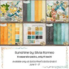 Sunshine GGI Bundle :: Gotta Grab It :: Gotta Pixel Digital Scrapbook Store by Silvia Romeo