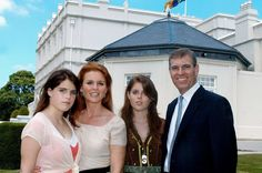The Duke and Duchess of York,and Princesses Beatrice and Eugenie