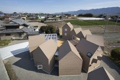 House of Awa-cho / Container Design
