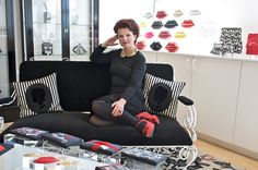 Модный дизайн интерьеров от Лулу Гиннесс