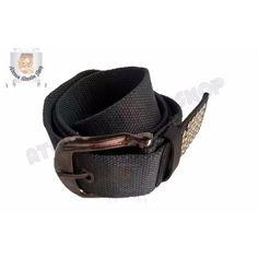 bbaecbb025ef3 Cinturon de algodon con tachas   4 cm de ancho Importado Largo  110 cm  Ancho  4 cm Color  Gris