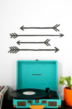 Arrow Wall Decal - Set Of 4 #urbanoutfitters