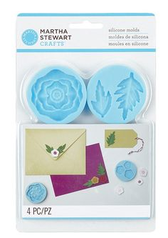 Martha Stewart Crafts - Crafters Clay Collection - Silicone Molds - Cheerful Flower at Scrapbook.com